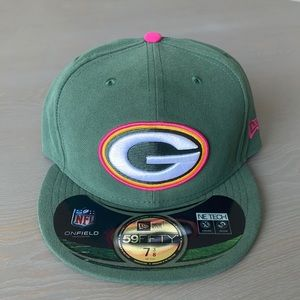 New Era 59Fifty NFL Green Bay Packers Fitted Hat